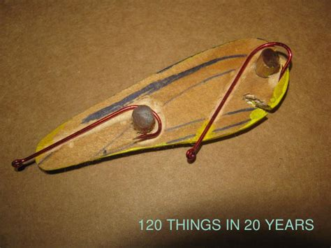 Handmade Lure - 120 things in 20 years handmade fishing lures harness
