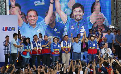 philippines senatorial candidates closely fought philippine presidential race gets underway