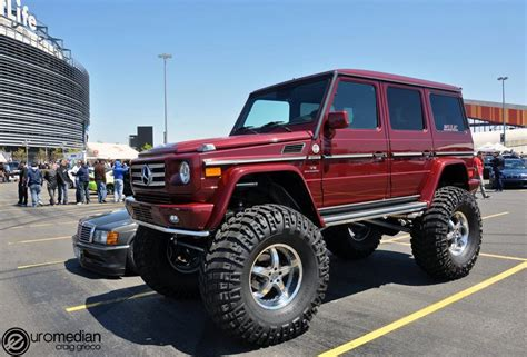 mercedes truck lifted lifted mercedes g wagon 4x4 4x4 cars and