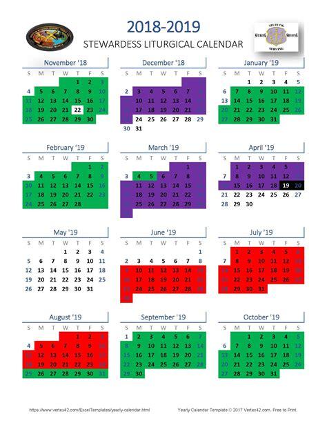methodist church calendar  template calendar design