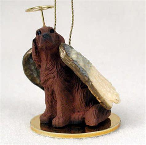 setter dog statue irish setter dog figurine angel statue ornament ebay