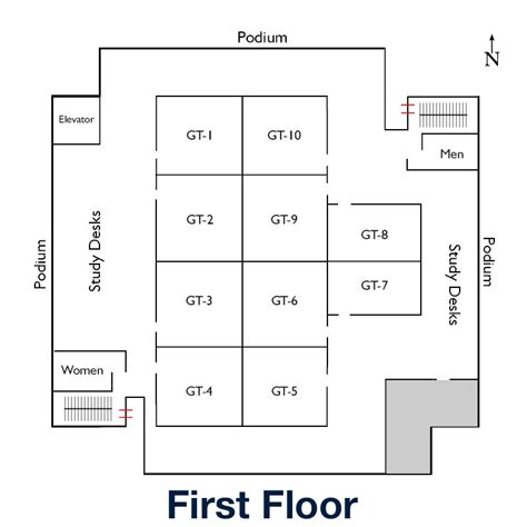first floor library floor plans dahlgren memorial library
