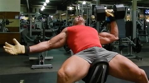 single arm dumbbell bench press pecs of death with one arm dumbbell press youtube