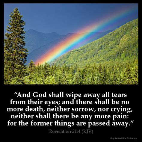 No More Dying Then revelation 21 4 inspirational image
