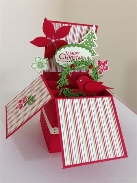 Christmas Gift Card Boxes - best 25 pop up christmas cards ideas on pinterest diy christmas cards pop up cards