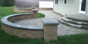 paver patio steps leading edge landscapes