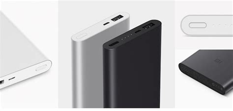 Powerbank Xiaomi 10000mah Slim pack 2017 new slim xiaomi mi powerbank 2 10000mah