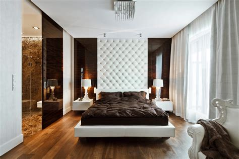 sleek bedroom designs sleek and sumptuous poland apartment