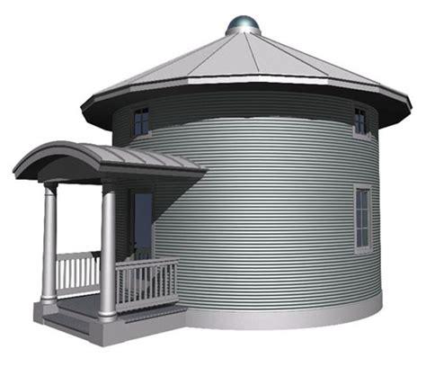 Sips House Kits grain bin cabin plan