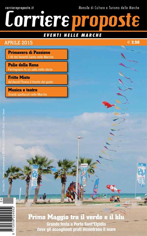 poste italiane porto sant elpidio corriere proposte aprile 2015 by corriere proposte issuu