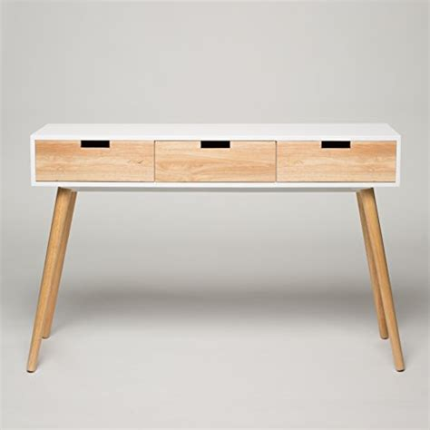 Wood Hallway Table Console Table White Wood 120 X 30 X 80 Cm Dressing Table Hallway Table Chest Of Drawers