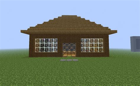 How To Build A Log Cabin Minecraft by Minecraft Simple Log Cabin Www Imgkid The Image Kid Has It