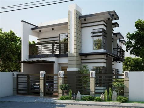 modern elegant house designs elegant nice looking modern contemporary house designs philippines 700x525 jpg 700