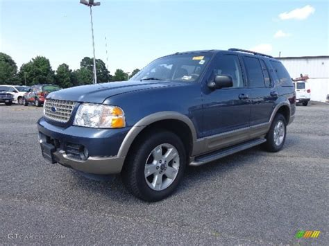 2003 ford explorer eddie bauer medium wedgewood blue metallic 2003 ford explorer eddie