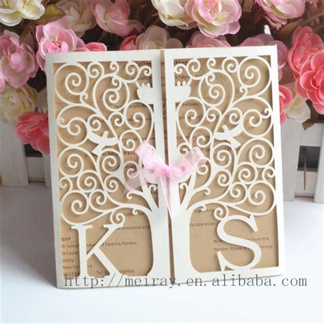 Tree Wedding Invitation Kits