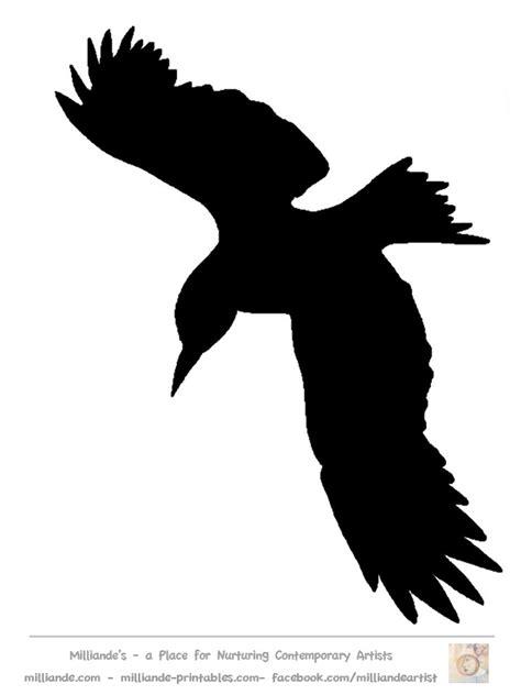 silhouette templates bird silhouette crafts