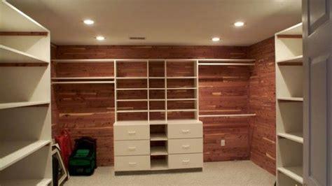 Closet Cedar Lining by Cedar Lined Closet Organize It