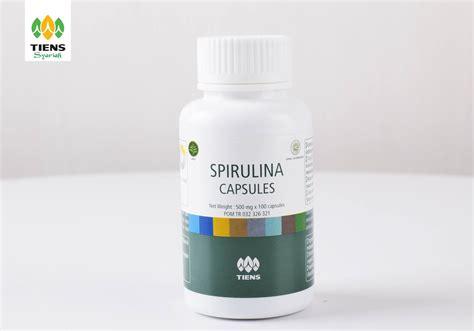 Obat Spirulina tiens peninggi badan review harga dan bukti produk terbaik