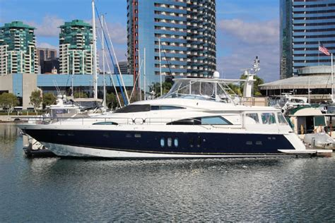 boats for sale san diego marriott 2006 74 fairline 74 squadron for sale in san diego