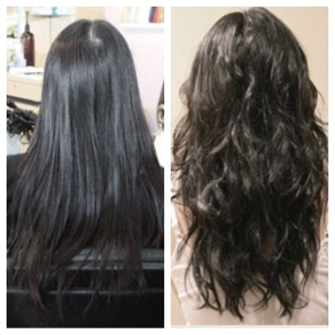 volumizing perm on white people hair volumizing perm before and after specialty set spiral