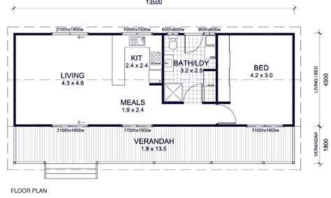 Ranch House Floor Plans With Basement Cabin Floor Plans Success House Plans 58342