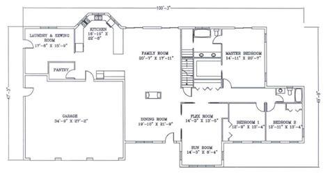 40x50 metal house floor plans 40x50 best house design
