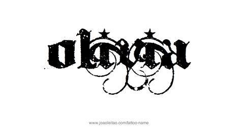 olivia tattoo designs name designs