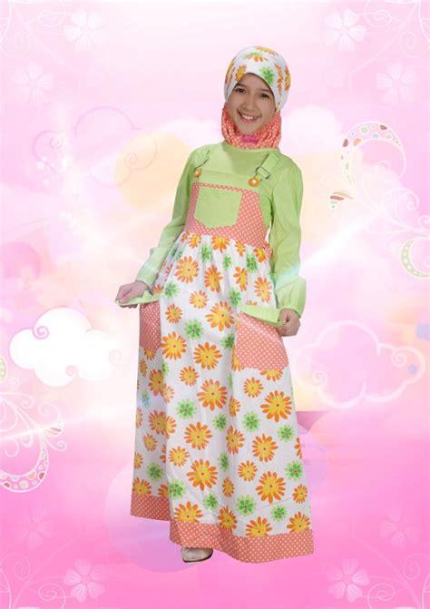 Gamis Anak Kode Ga 06ga 10 Size S L aini 120903 hijau baju muslim gamis modern