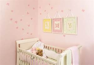 Baby Nursery Wall Decor Ideas Stin Up Wall