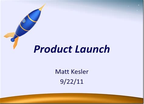 Accelerate Your Product Launch With An Effective Powerpoint Product Presentation