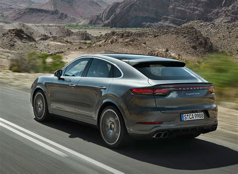 2020 Porsche Cayenne by 2020 Porsche Cayenne Coupe Swaps Space For Style