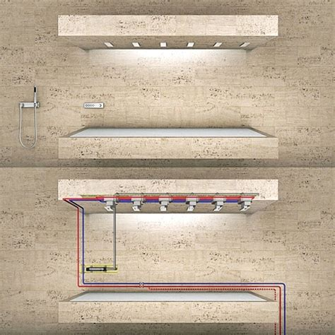 Horizontal Shower by Future Bathrooms Must This Horizontal Shower