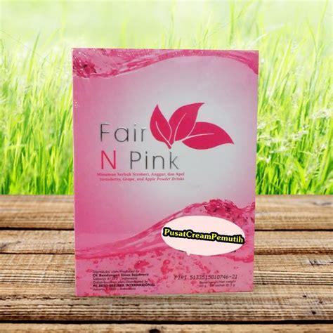Fair N Pink Pemutih Ketiak jual fair n pink drink minuman pemutih jual kosmetik