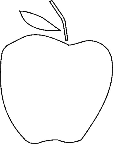 printable apple template cliparts co apple templates clipart best