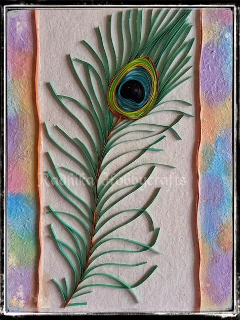 paper quilling peacock feather tutorial 139 best images about quilling peacocks on pinterest