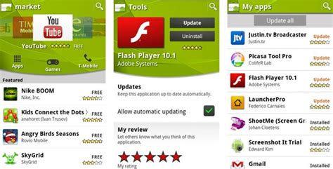 android store from android market to play a brief history of the play store