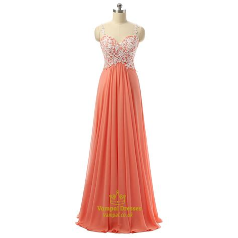 Sleeveless A Line Chiffon Dress floor length sleeveless sweetheart a line chiffon prom