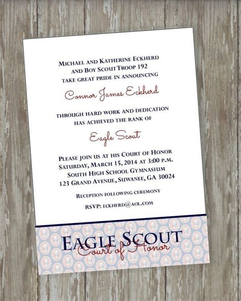 Cub Scout Blue And Gold Program Template Templates Resume Exles R2aqvk4yjo Eagle Scout Announcement Templates
