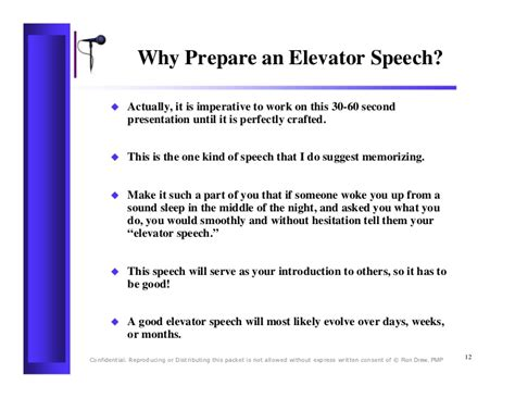 60 Second Elevator Speech Sles 60 second elevator speech sles how to write a 30 second