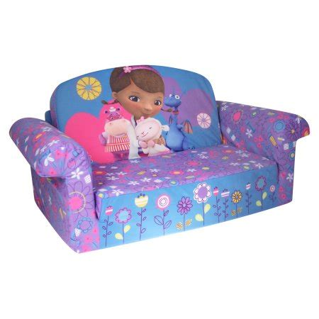 Bj1042 Wine And Black Set 2in1 marshmallow furniture children s 2 in 1 flip open foam sofa disney doc mcstuffins by spin