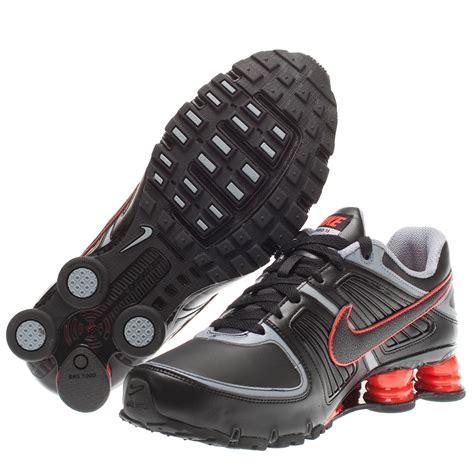 nike shox shoes nike shox turbo xi sl black mens trainers shoes ebay