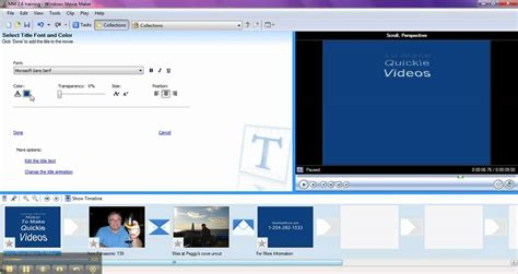 windows movie maker credits tutorial how to add titles credits in windows movie maker 2 6