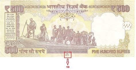 rs 1000 and 500 notes 10 ways to distinguish a 500 rupee note