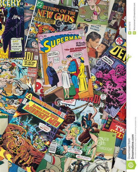 imagenes de historietas retro c 243 mic viejos de la historieta del vintage foto de archivo