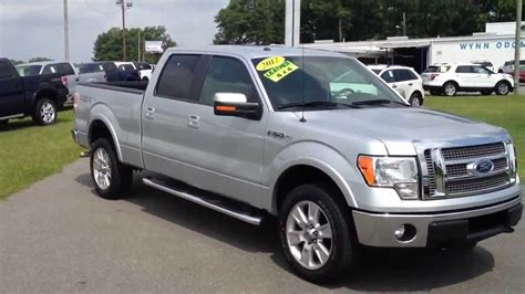 2012 ford f150 supercrew 2012 ford f 150 lariat supercrew bed ingot silver for