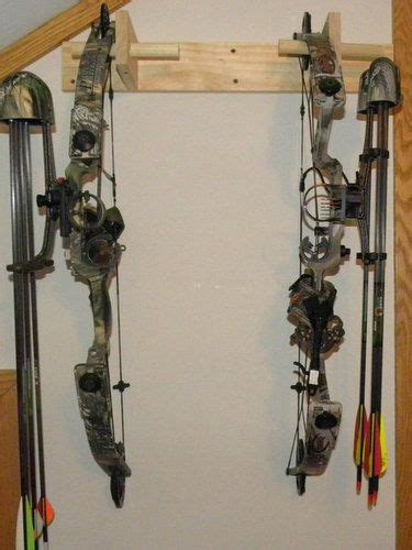 compound bow rack woodworking plans
