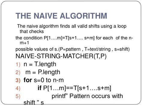 randomized pattern matching algorithm string matching algorithms