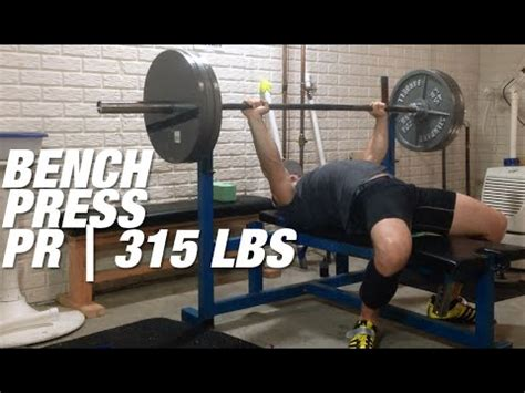 bench press 315 315 bench press pr paused 169 lbs bw youtube