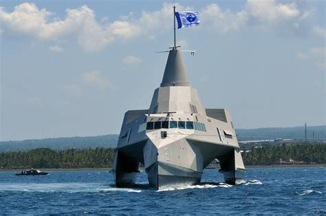 trimaran warship design north sea boats launches new trimaran warship for