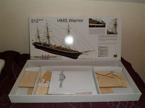 warrior billing boats hms warrior wood ship model kits nautical research
